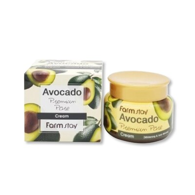 FARM STAY Avocado Premium Pore Cream 100g