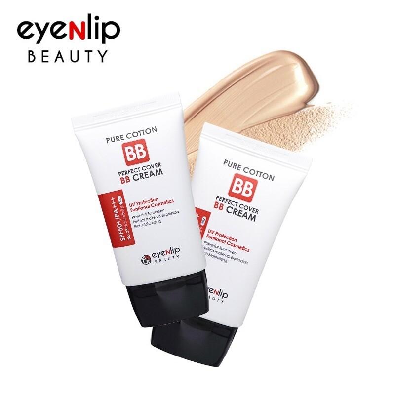 EYENLIP Pure Cotton Perfect Cover BB Cream (SPF50+/PA+++) 30ml 3 Color