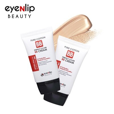 EYENLIP Pure Cotton Perfect Cover BB Cream (SPF50+/PA+++) 30ml 3 Color