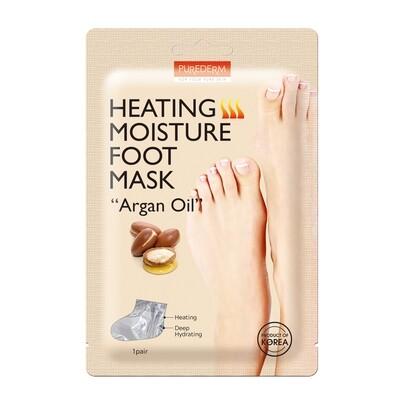 "PUREDERM Heating Moisture Foot Mask ""Argan Oil"""