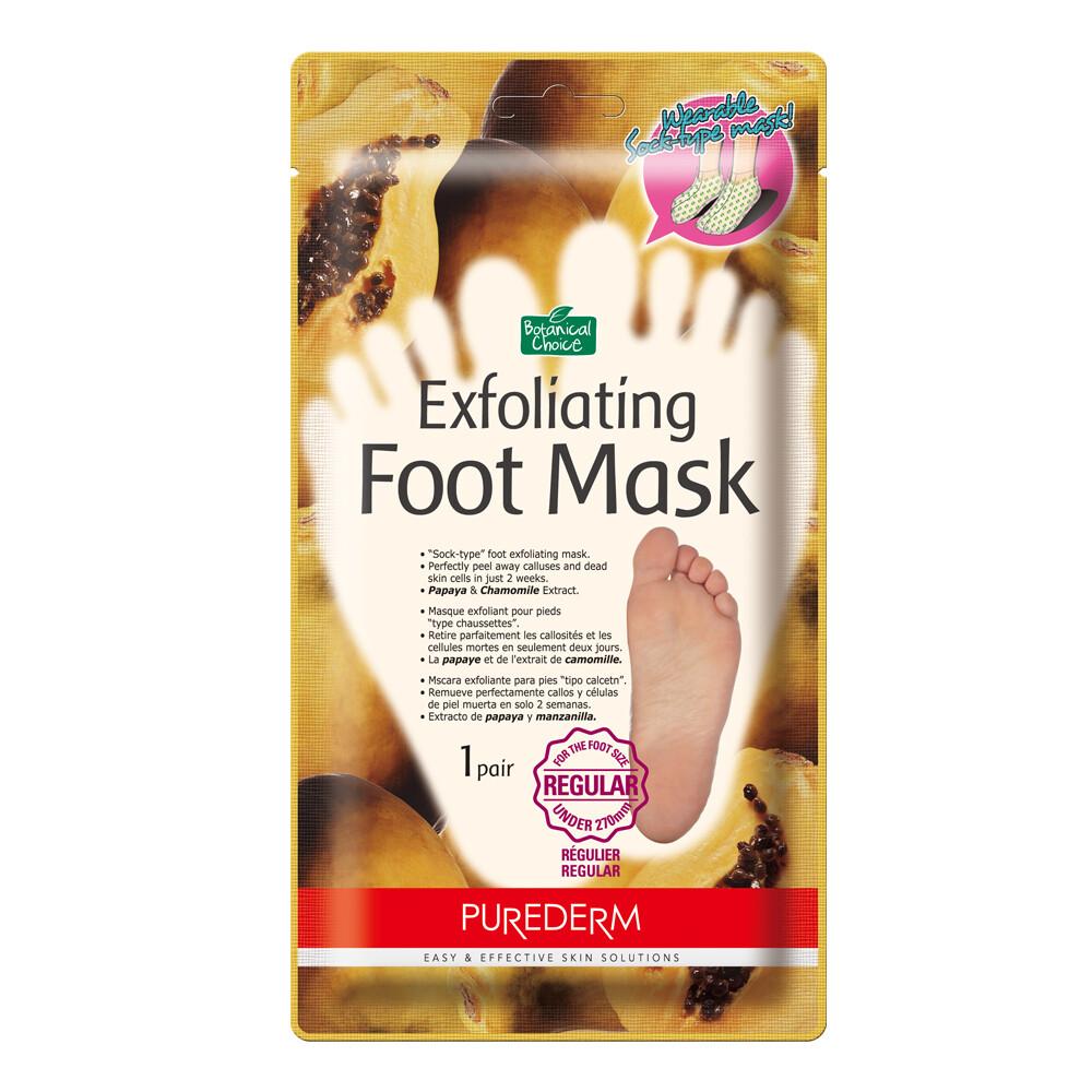 PUREDERM Botanical Choice™ Exfoliating Foot Mask