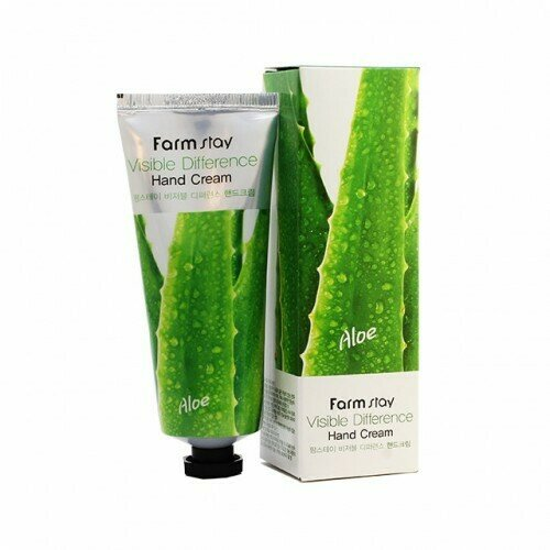 FARM STAY Visible Difference Hand Cream 100ml #Aloe