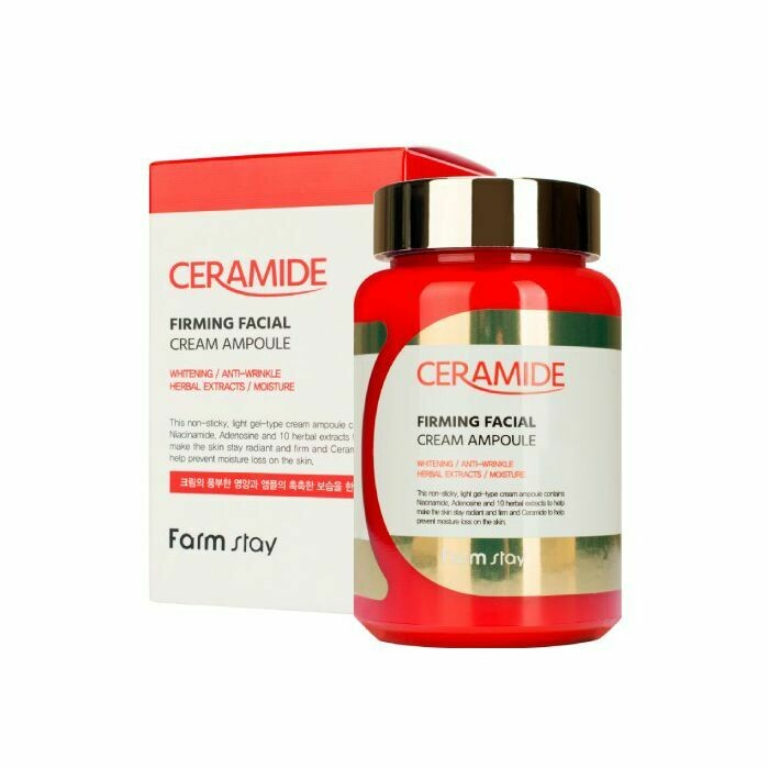FARM STAY Ceramide Firming Facial Cream Ampoule 250ml