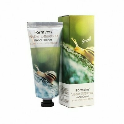 FARM STAY Visible Difference Hand Cream 100ml #Snail