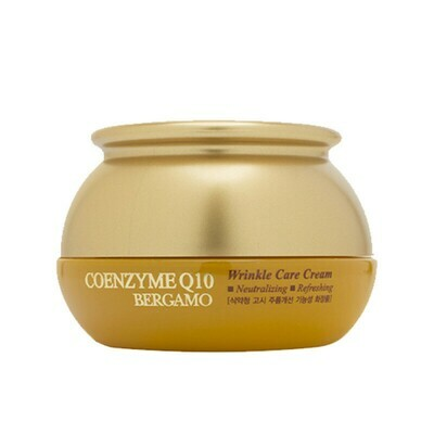 BERGAMO Coenzyme Q10 Wrinkle Care Cream