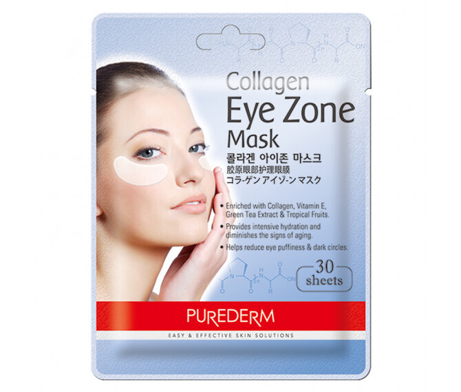 PUREDERM Collagen Eye Zone Mask 30 sheets