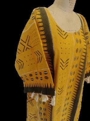 Mud Cloth 3/4 sleeve tunic