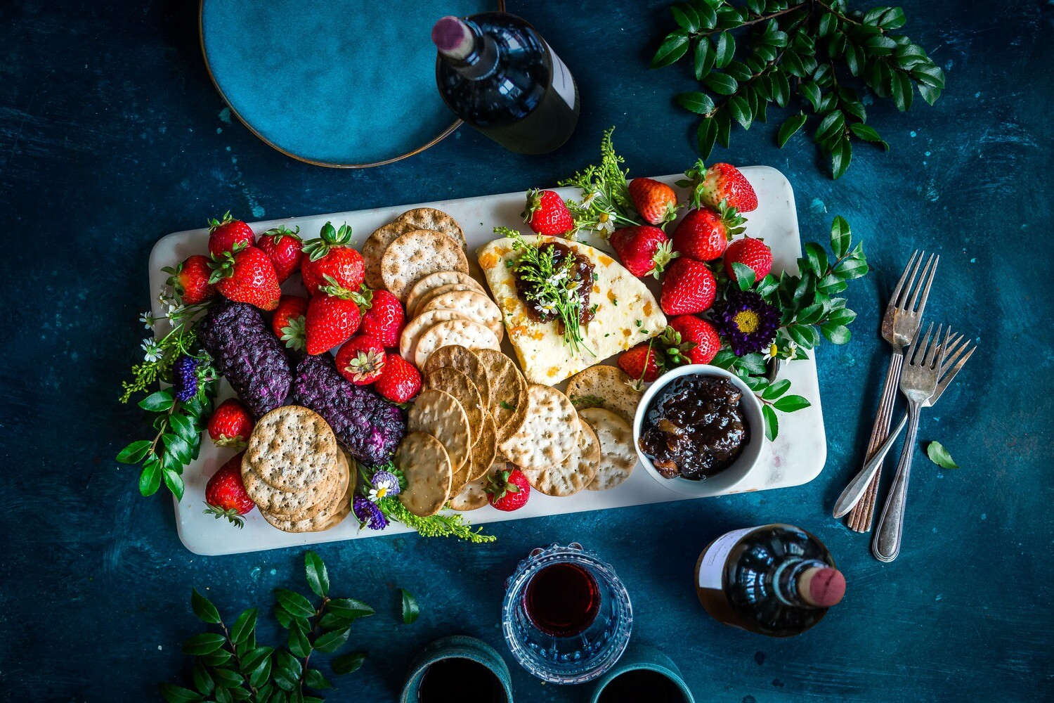 Petite Cheese, Fruit and Vegetable Board