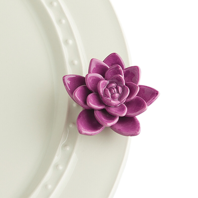 Mini's - Flower Purple (Succulent)