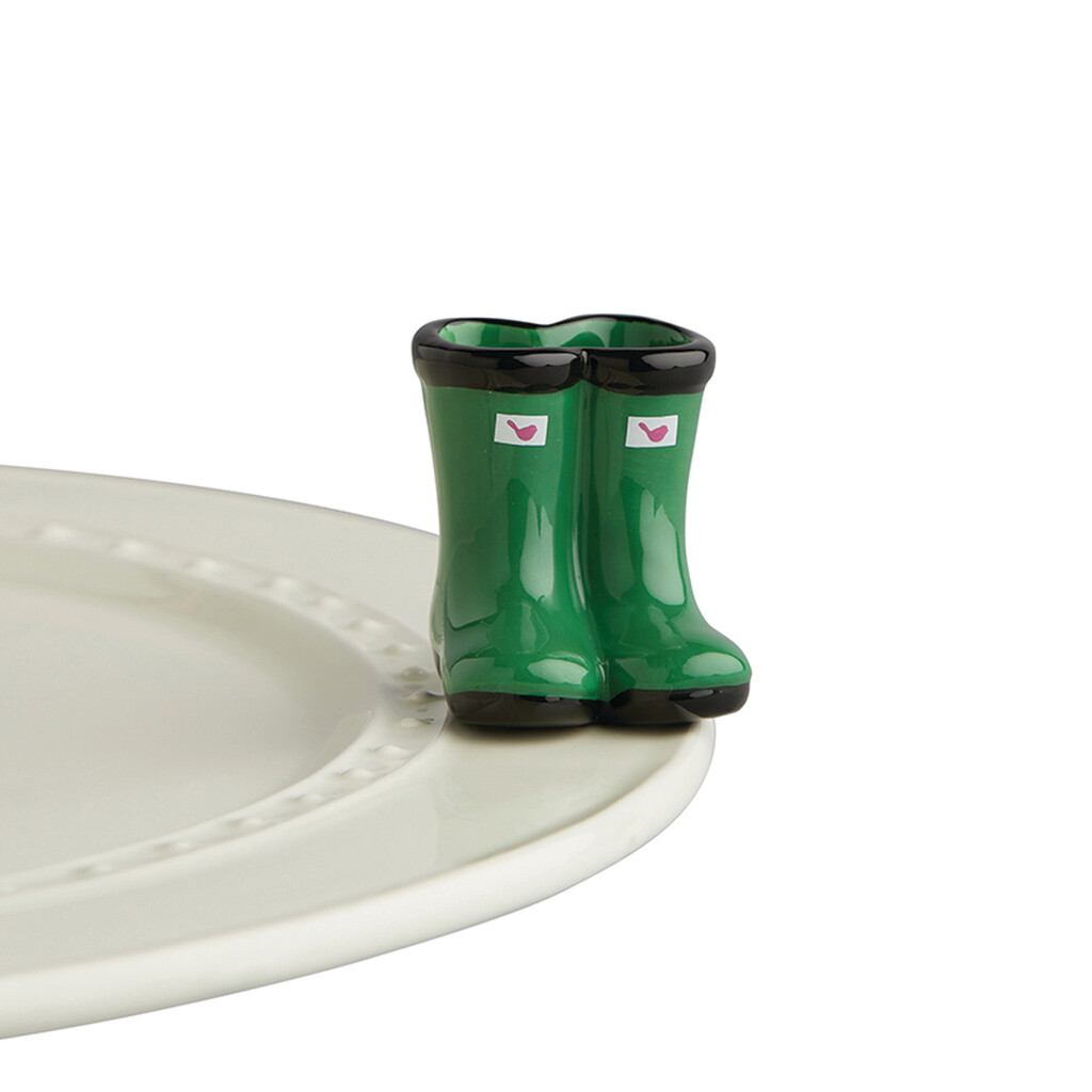 Mini's - Boots Green Jumpin' Puddles