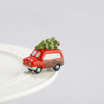Mini's - Car w/ Tree Woody w/ Tree Just Like Griswold's