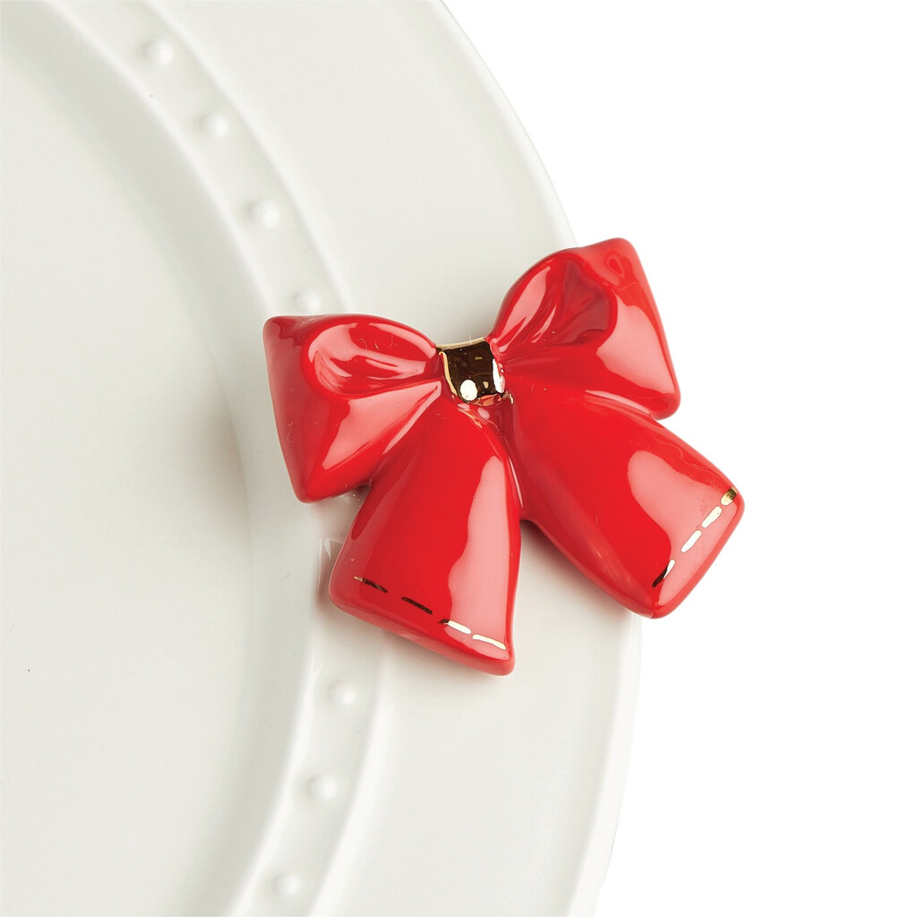 Mini's - Bow Red Wrap It Up