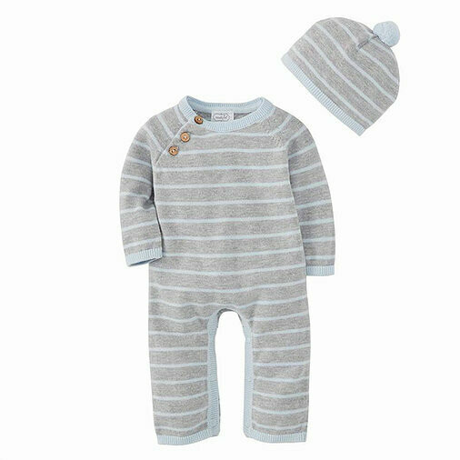 Knit Gift Set Blue
