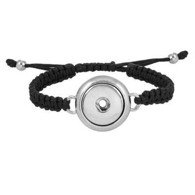 Snap Woven Bracelet