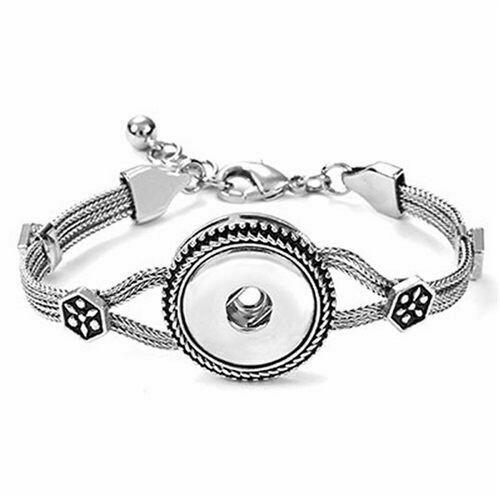 1 Snap Heritage Chain Bracelet