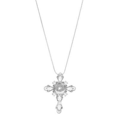 Snap Joy Cross Necklace