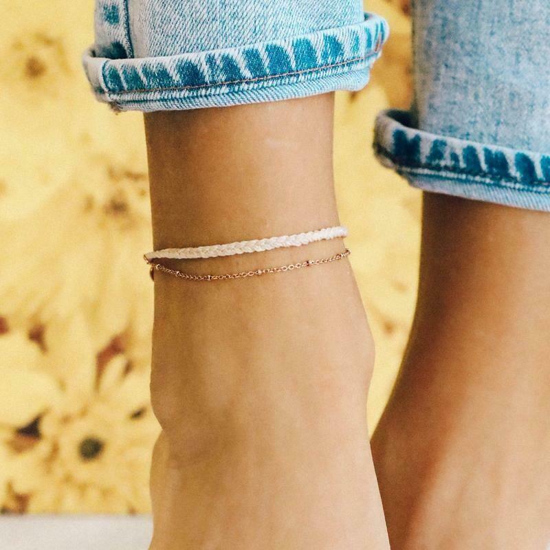 Satellite Chain Anklet