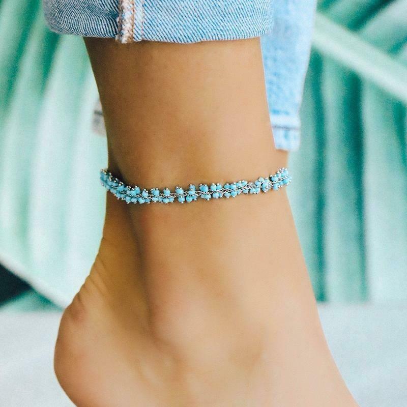 Tulum Anklet