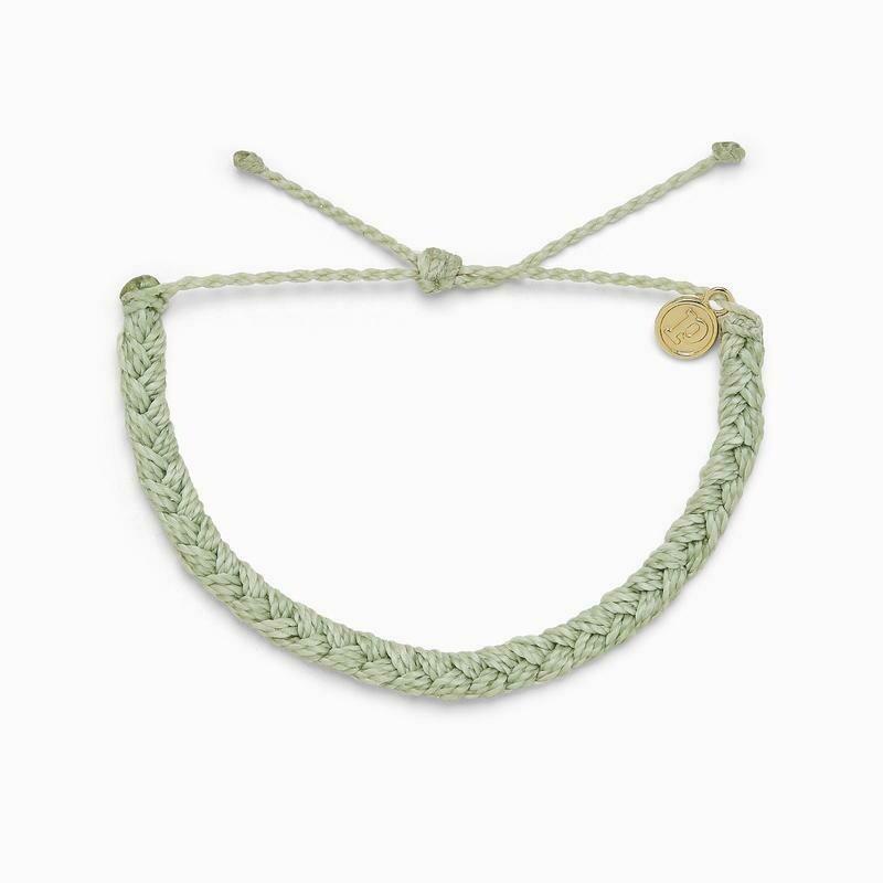 Braided Bracelet Mint