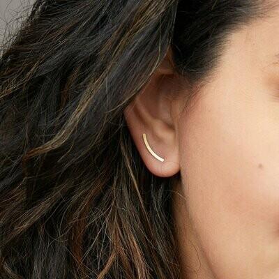 Refined Earring Comet Curve