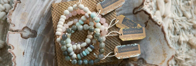 Stone Stacking Bracelets