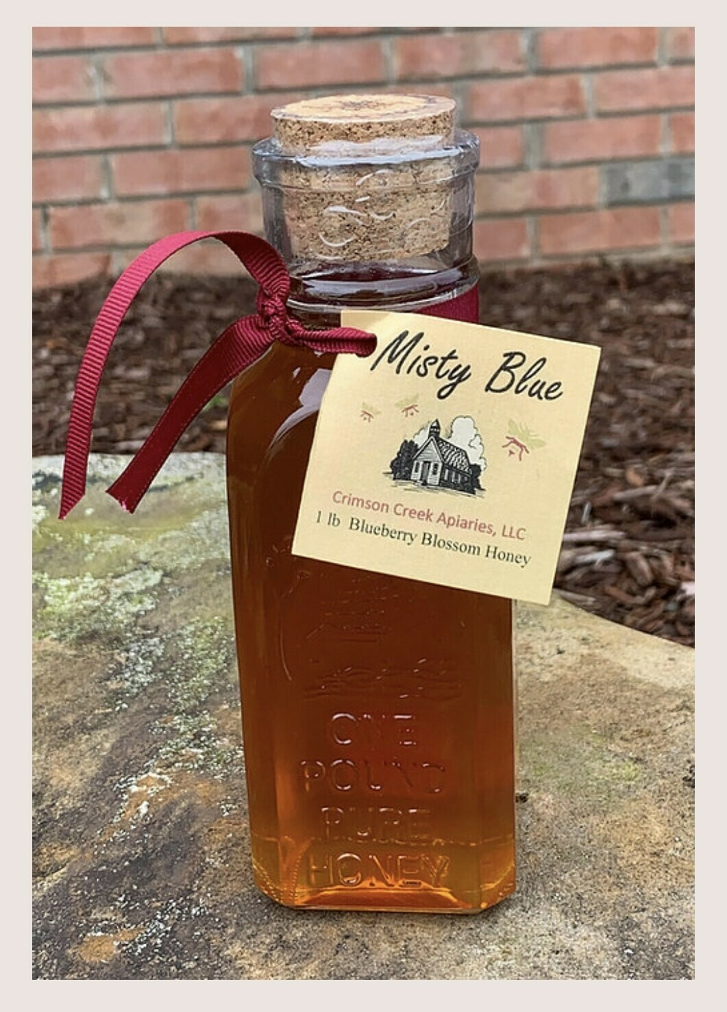 1lb. Honey - Blueberry