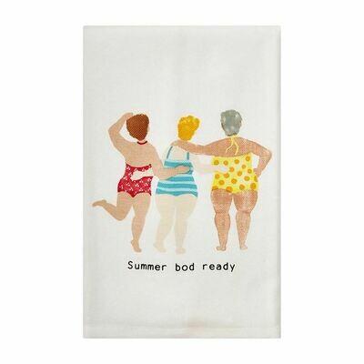 Summer Body Lady Towel