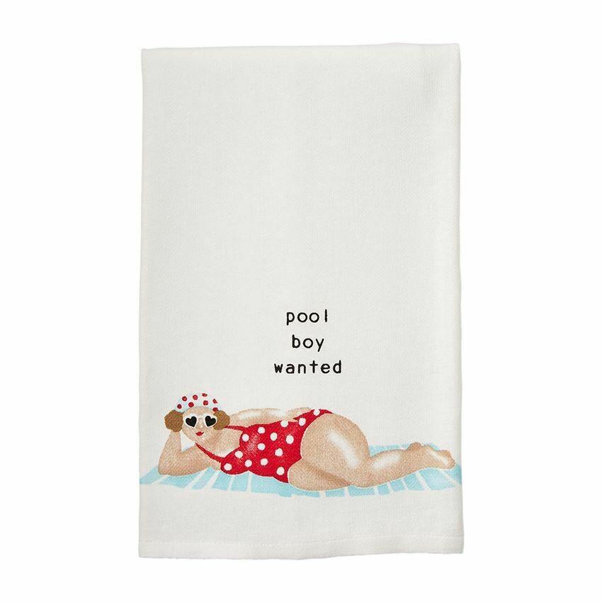 Pool Boy Lady Towel