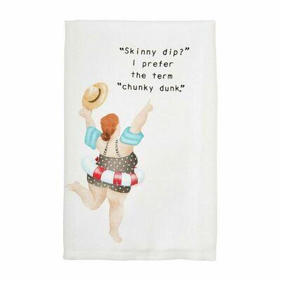 Chunky Dunk Pool Towel