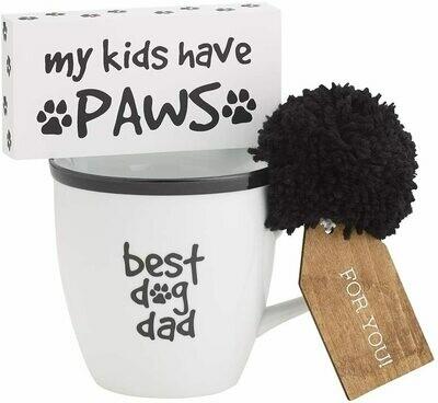 Best Dog Dad Mug Set