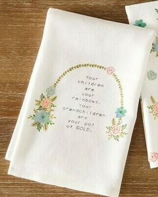 Grandma Arch Floral Towel