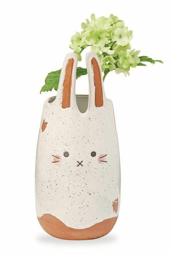 Bunny Face Bud Vase