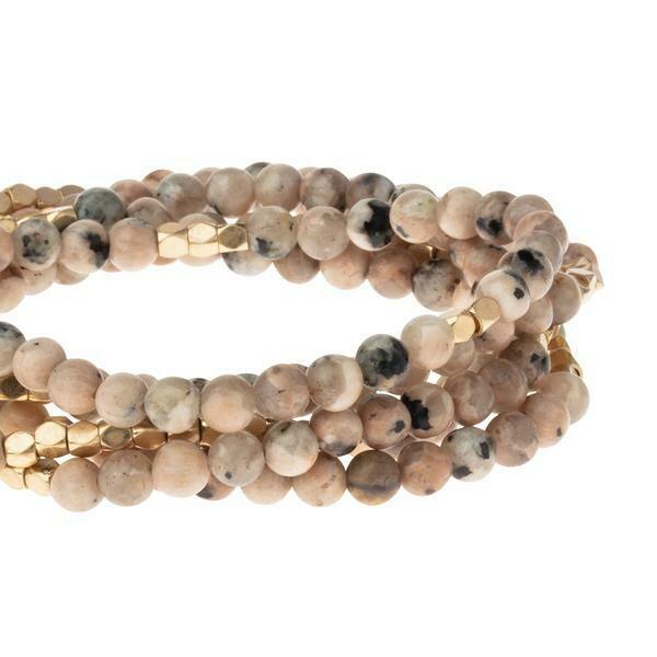 Stone Wrap - Rhodonite