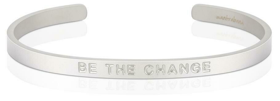 Men's Mantra Be the Change