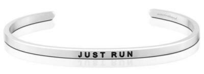 MantraBand Silver - Just Run