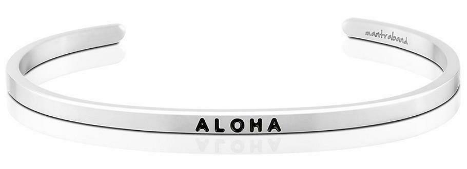 MantraBand Silver - Aloha