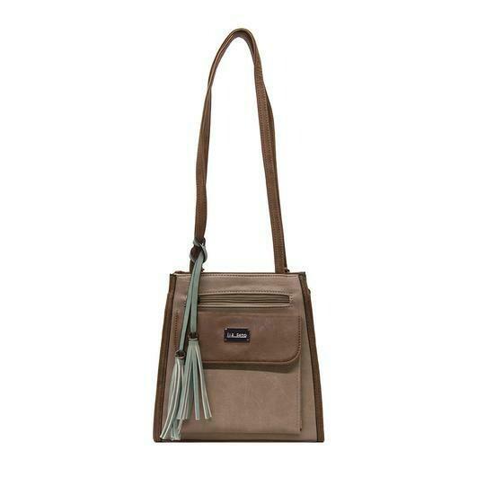 Gina Shoulder/Backpack Beige