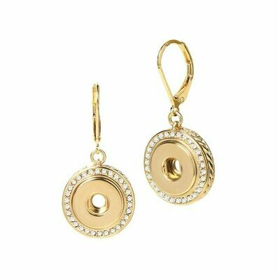 Bling Dangle Earrings - GOLD