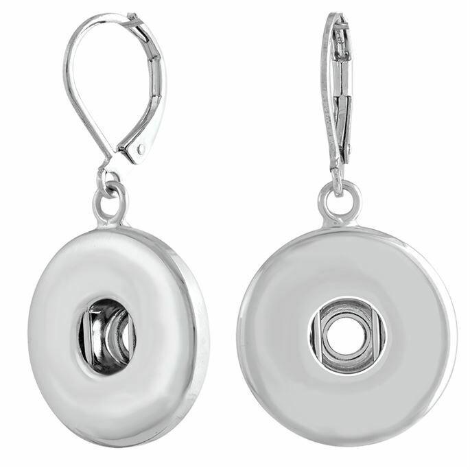 Leverback Earrings Silver