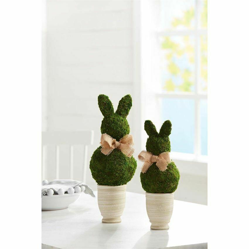 Moss Bunny Pot