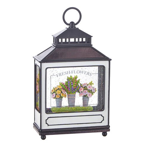 Fresh Flowers Lantern