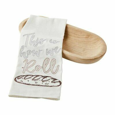 Bread Bowl w/ Towel