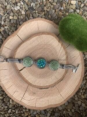 3 Snap Multi Chain Bracelet w/ Snaps