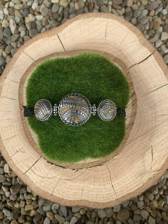 Combo Woven Bracelet w/ Snaps