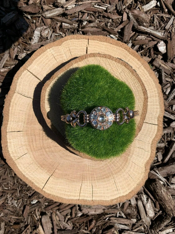Royal Rose Gold Bracelet w/ Snap