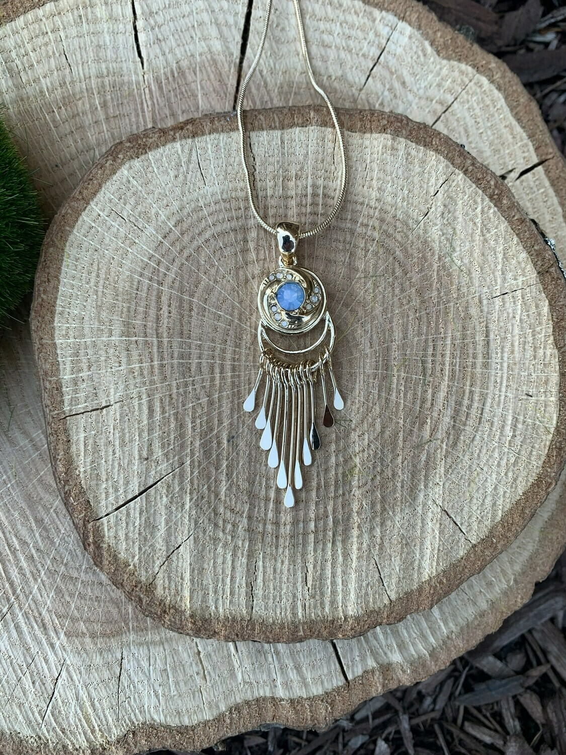 Piper Necklace-Gold w/ Snap