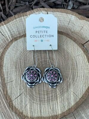 Rosette Earrings