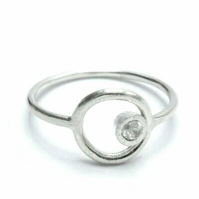 Sterling Circle Ring
