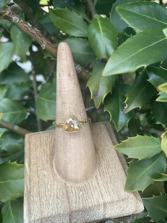 Gold Trillium Ring