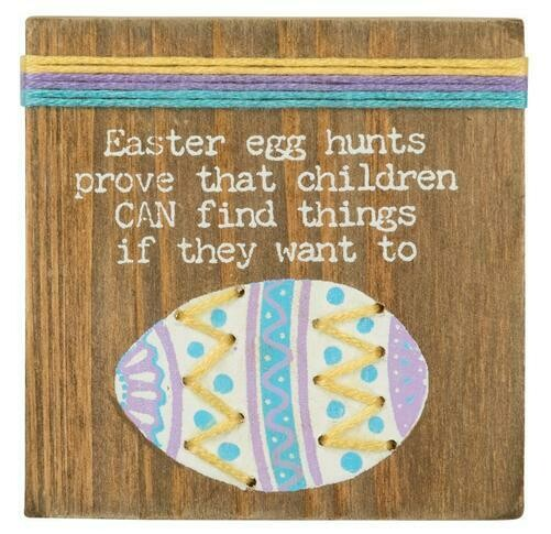 Stitched block- Egg hunts